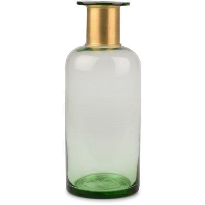 Vase Bottle - Grønn/gull