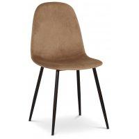 Carisma stol - Lysebrun/svart