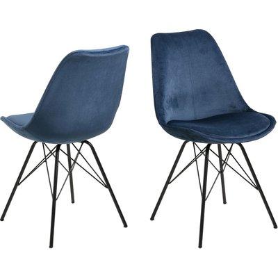 Eris Spisestol - Marineblå/svart