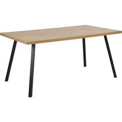 Wales spisebord - Eik/svart