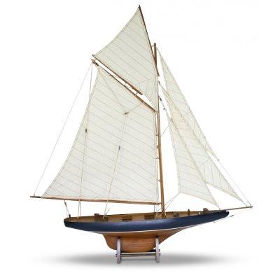 Modellbåt Columbia seilbåt - Brun