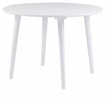 Dalsland rundt spisebord ø106 cm - Hvit