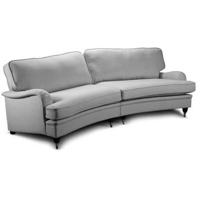 Howard Oxford XL Buet sofamodell 275 cm - Lys grå