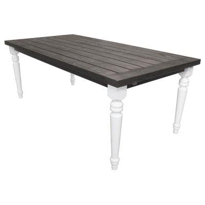 Spisebord Milton - Hvit/grå