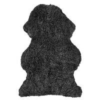 Curly fåreskinn - 95x55 cm - Mørkegrå