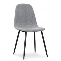 Carisma stol - Grå (Stoff)/svart