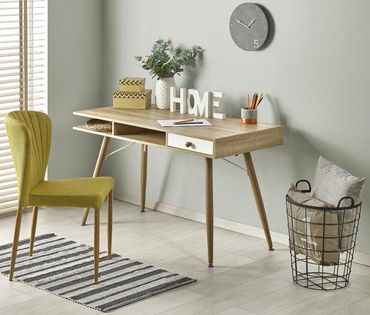 Skrivebord i eik | FINN.no