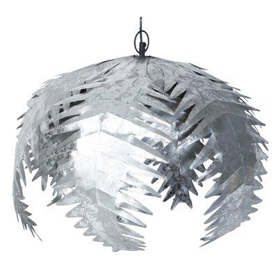 Palm taklampe - Sølv