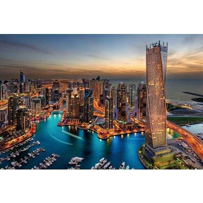 Glassbilde Dubai - 120x80 cm
