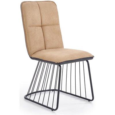 Smith spisestol - Lys brun/svart