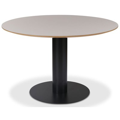 Next 118 rundt spisebord - Svart / Lys virvler