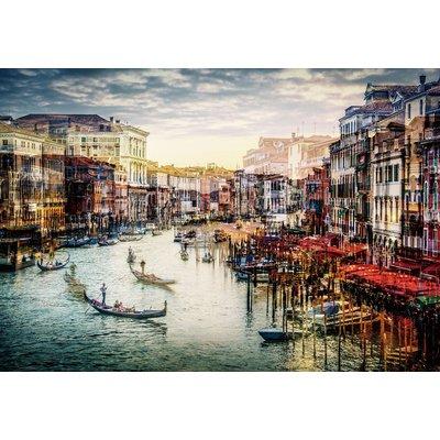 Glassbilde Venice - 120x80 cm