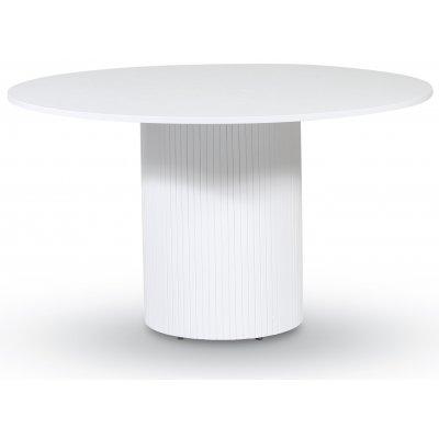 Essvik spisebord Ø130 cm - Hvit