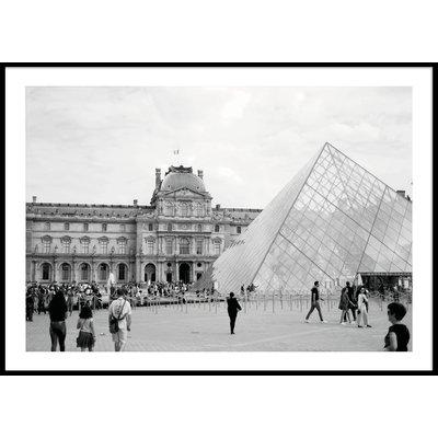LOUVREN PARIS - Plakat 50x70 cm