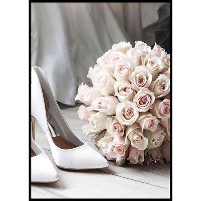 BRIDE ROSES - Plakat 50x70 cm