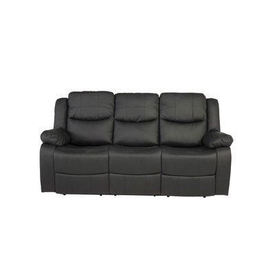 reclinersofa Rochelle - Svart PU