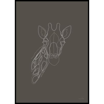 DIGITAL GIRAFFE - Plakat 50x70 cm