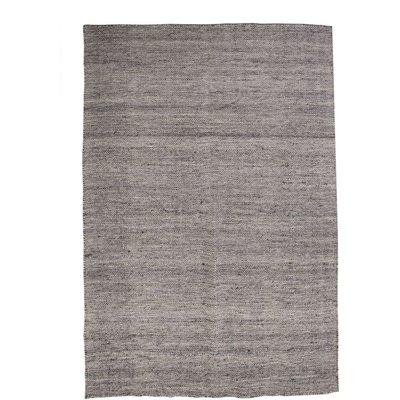 Raggteppe Trevor - Graftgrå Polyester