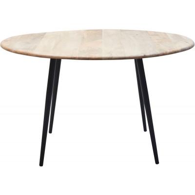 Tessa spisebord rundt 160 cm - Tre/svart