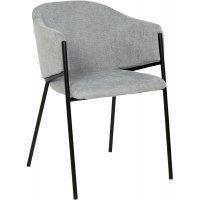 Stacey karmstol - Grå hvit/svart