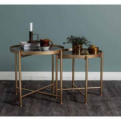Settbord Harper - Gull/grå