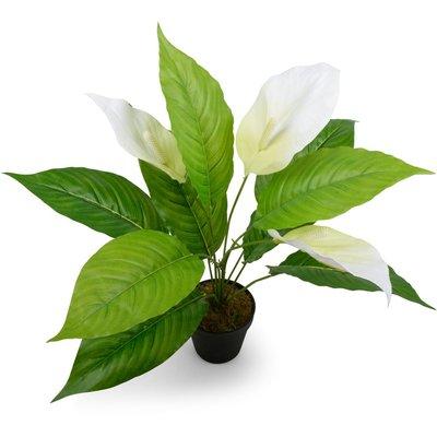 Kunstig plante – Fredslilje 30 cm