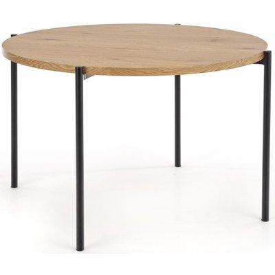 Tanzi spisebord - Gull eik/sort