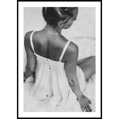 WOMAN IN DRESS - Plakat 50x70 cm
