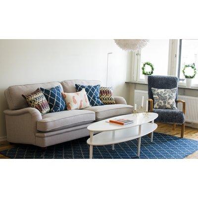 Howard Luxor sofa 5-seter - Valgri farge