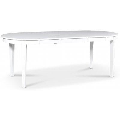 Gåsö spisebord oval uttrekkbart - Hvit