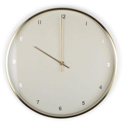 Klokke Classic - Hvit/Gull