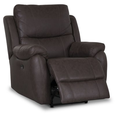 Enjoy Hollywood El-recliner Lenestol - Brunt Mikrostoff