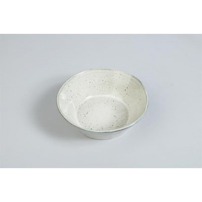 Dreja dessertskål - Hvit - 4-pack
