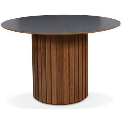 Matisse Perstorp rundt spisebord - Eik / Mørke virvler