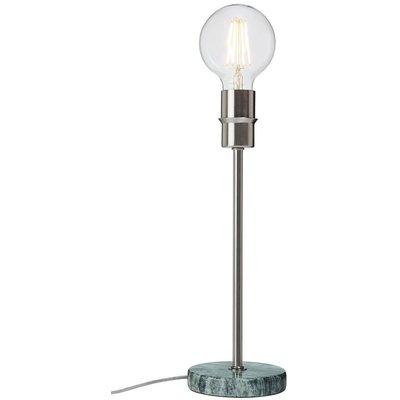 Converto bordlampe - Grå marmor/messing