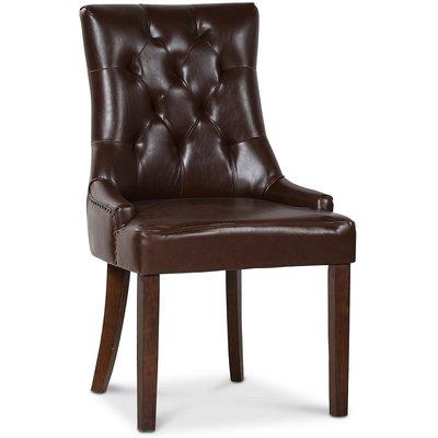 Tuva New Port stol med håndtak - Vintage PU