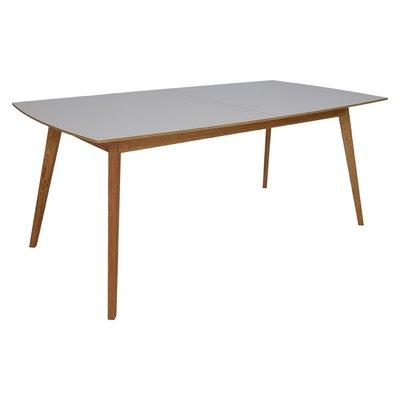 Millie spisebord 195-245 cm - Eik / Lys Virrvarr