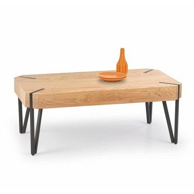 Bethany stuebord - Gull eik/svart