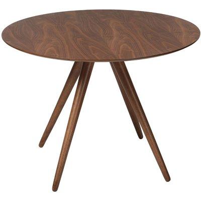 Pheno spisebord rundt - Valnøttfinér