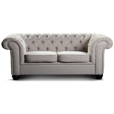 Chesterfield York 3-seters sofa - Valgfritt stoff