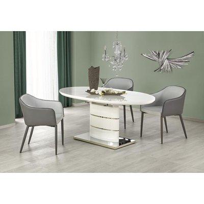 Evangeline spisebord 140-180 cm - Hvit