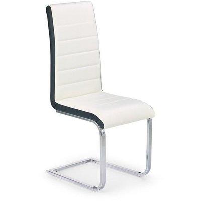 Iris stol - hvit/svart