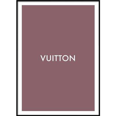 LOUIS VUITTON No 2 - Plakat 50x70 cm