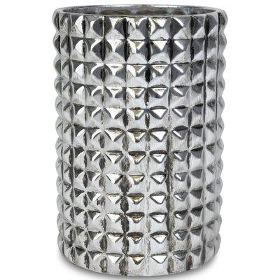 Vase Nagler H22 cm - Sølv