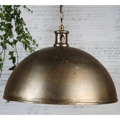 Gladley taklampe D50 - Antikk messing