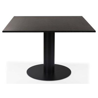 Next 108 spisebord - Svart / marmor (Donau Granitt)