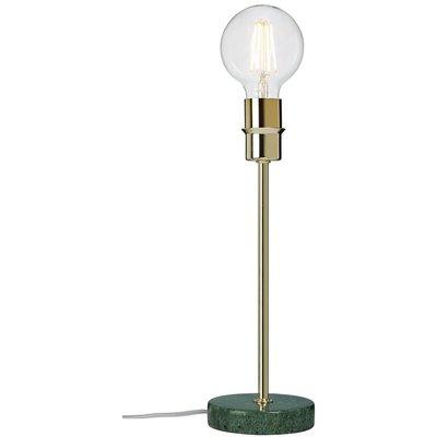 Converto bordlampe - Grønn marmor/krom
