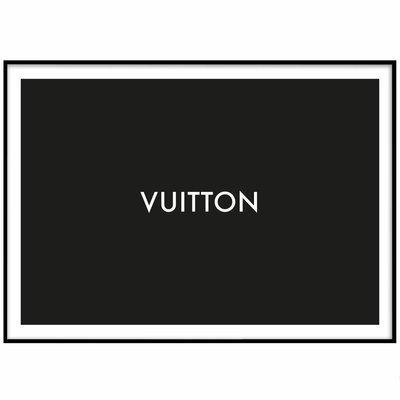 LOUIS VUITTON No 3 - Plakat 50x70 cm