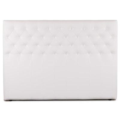 Sensation sengegavl 180 cm - Hvit Eco-lær
