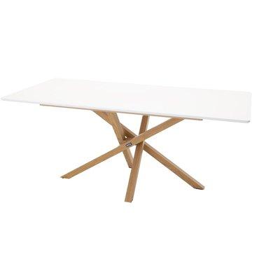 Spisebord Höganäs 180 cm - Eik / Hvit